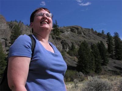 Jill at White Lake