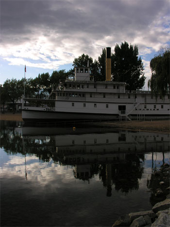 SS Sicamous reflection