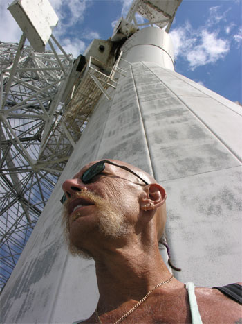 The dish tower