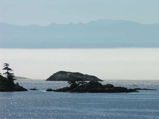 Islands And Fog